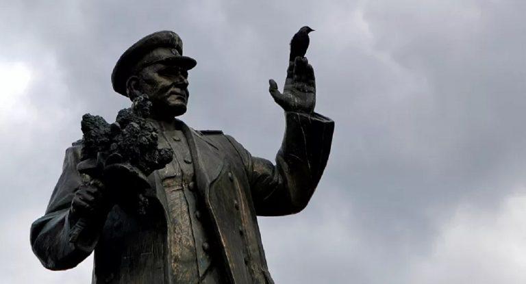 Pomník maršala Sovietskeho zväzu Ivana Koneva v Prahe