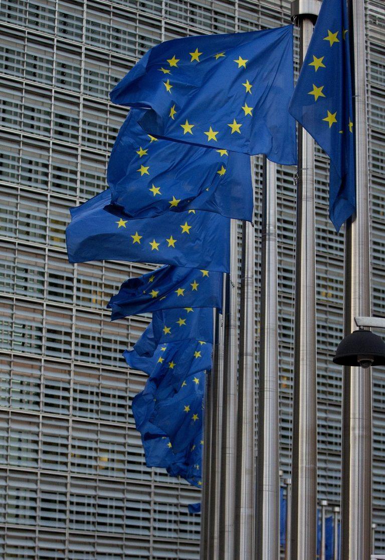 sídlo vlajky Európskej únie