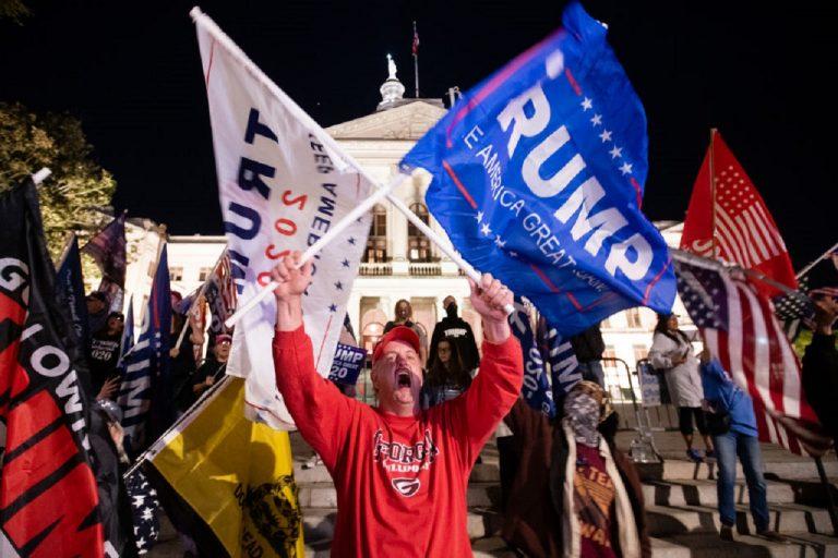 protesty v Pensylvánii
