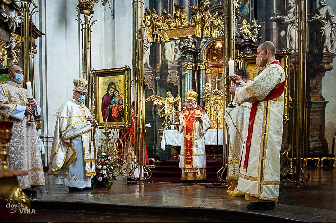 odpustová slávnosť v pražskej katedrále sv. Klimenta