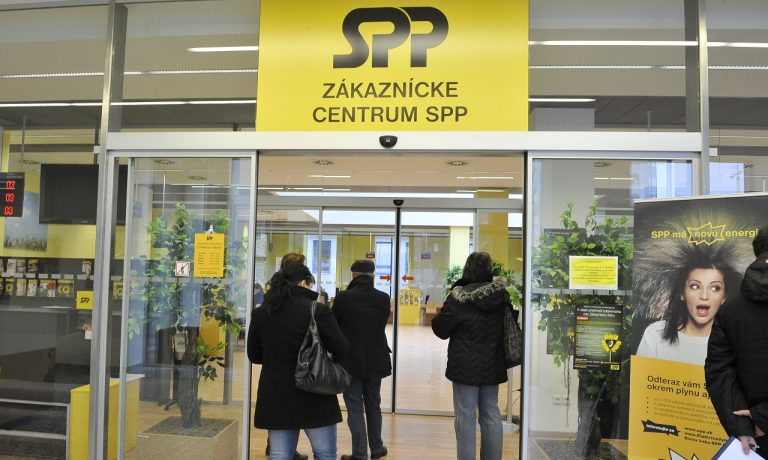 zákaznícke centrum Slovenský plynárenský priemysel SPP