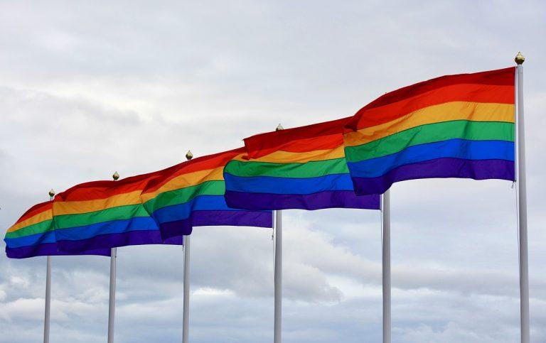 LGBTI dúhová vlajka