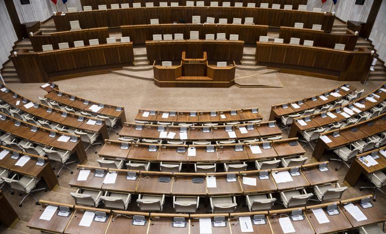 rokovacia sála parlamentu NRSR