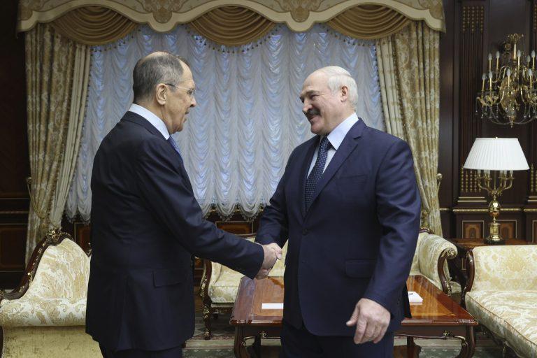 Lavrov v Bielorusku