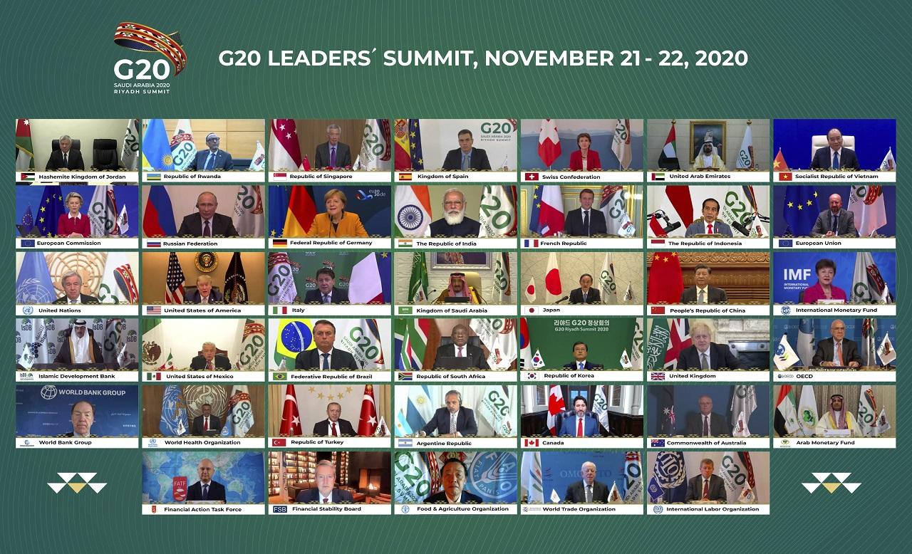 Virtuálny summit skupiny G20