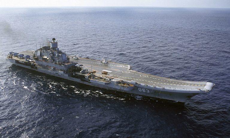 ruská vojnová loď