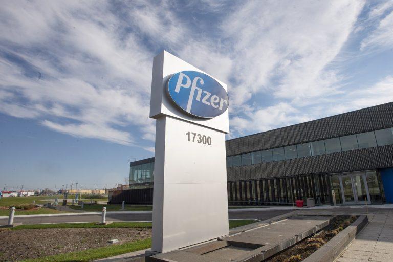 logo americká farmaceutická spoločnosť Pfizer