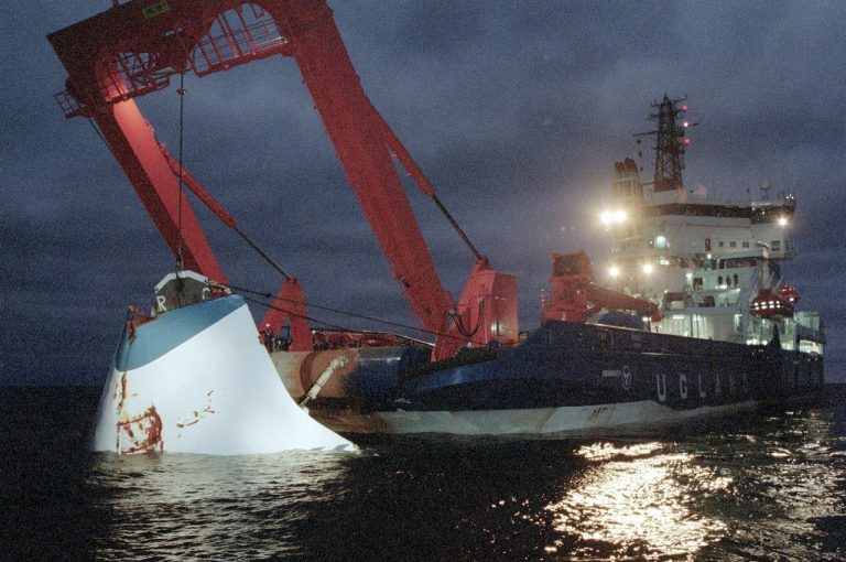 Prípad námornej tragédie trajektu