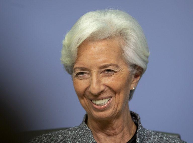 šéfka Európskej centrálnej banky (ECB) Christine Lagardeová