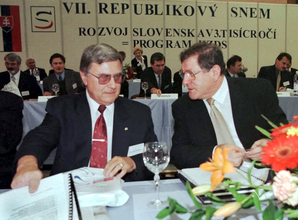 Arpád Matejka a Vladimír Mečiar