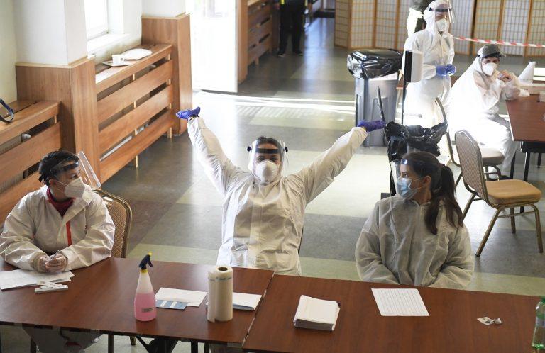 Štvrté dobrovoľné kolo testovania