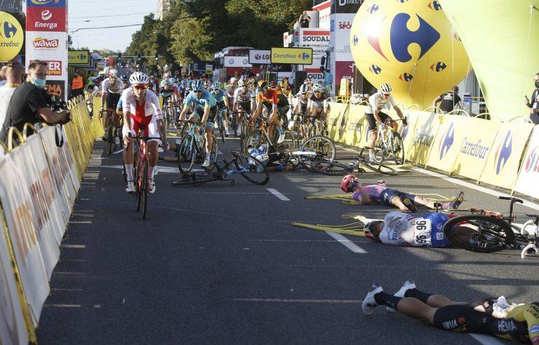 cyklisti kolízia