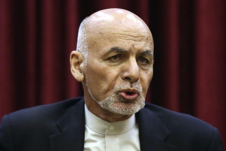 afganský prezident Ašraf Ghaní