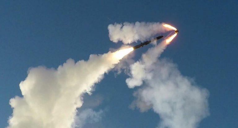 Odpálenie rakety v Arktíde