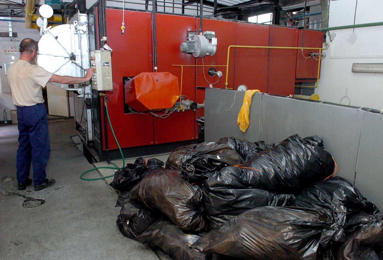 Likvidácia zdravotníckeho odpadu