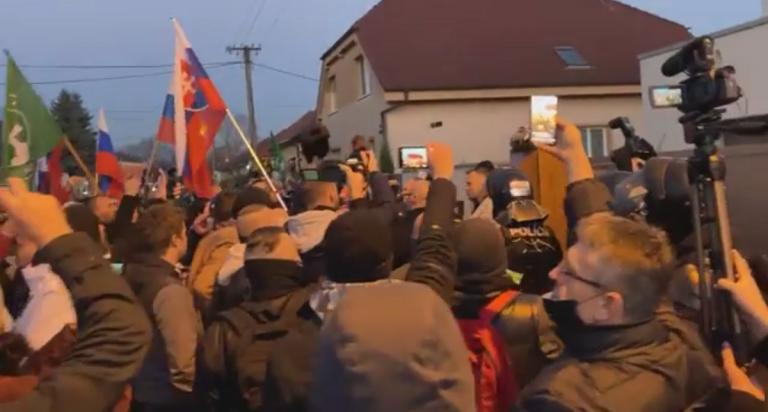 protest proti Matovičovej vláde