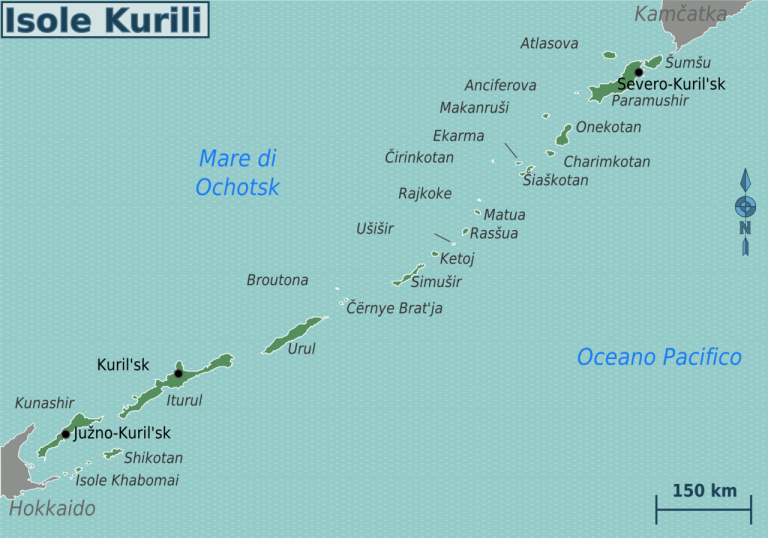 kurilske ostrovy