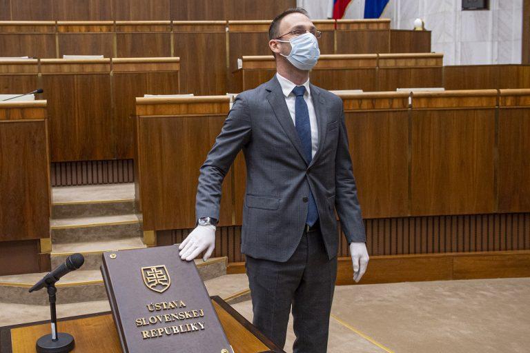 náhradník Tomáš Lehotský Za ľudí Slovensko poslanecký sľub skladanie