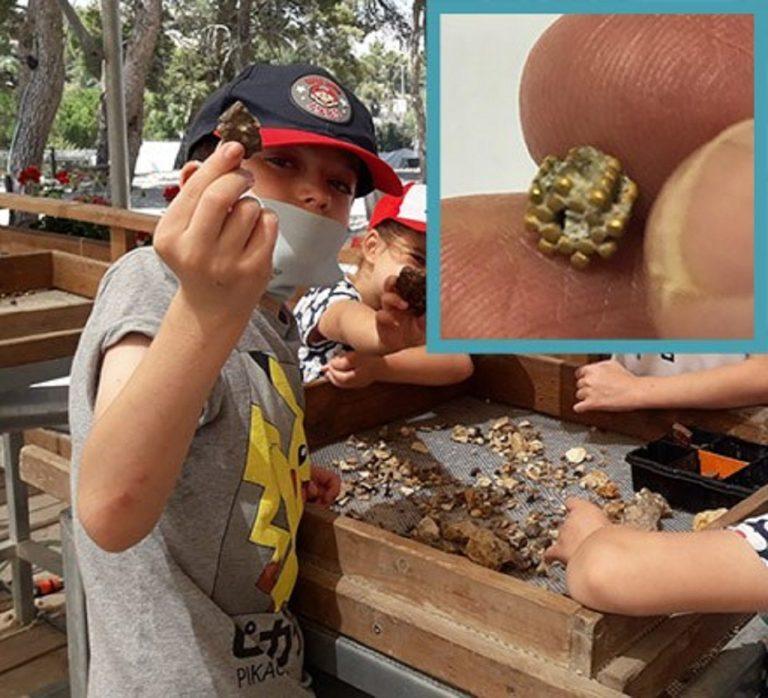 Deväťročný chlapec našiel na Chrámovej hore v Jeruzaleme maličkú zlatú korálku, ktorá môže byť stará tri tisícky rokov