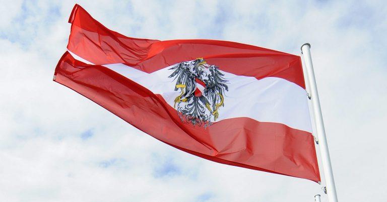 rakúska vlajka