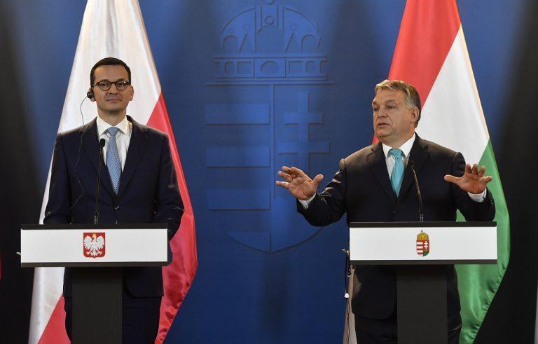 Mateusz Morawiecki Viktor Orbán