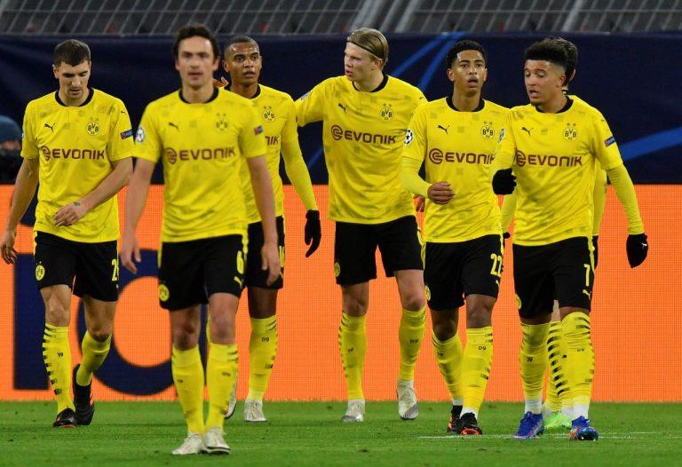 Futbalisti Borussie Dortmund
