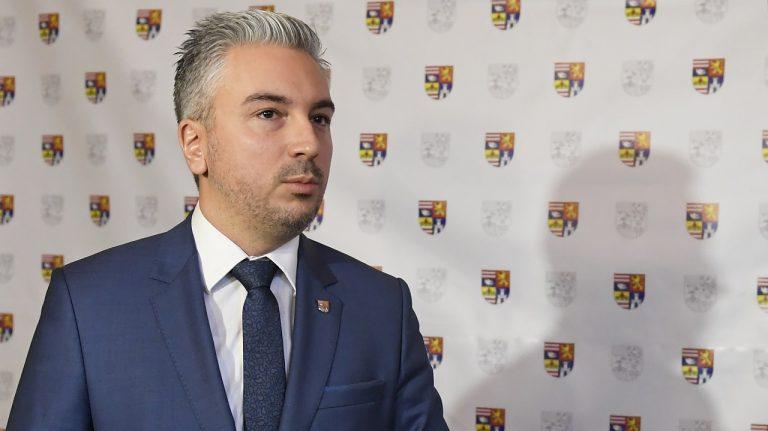 Na snímke predseda Košického samosprávneho kraja (KSK) Rastislav Trnka