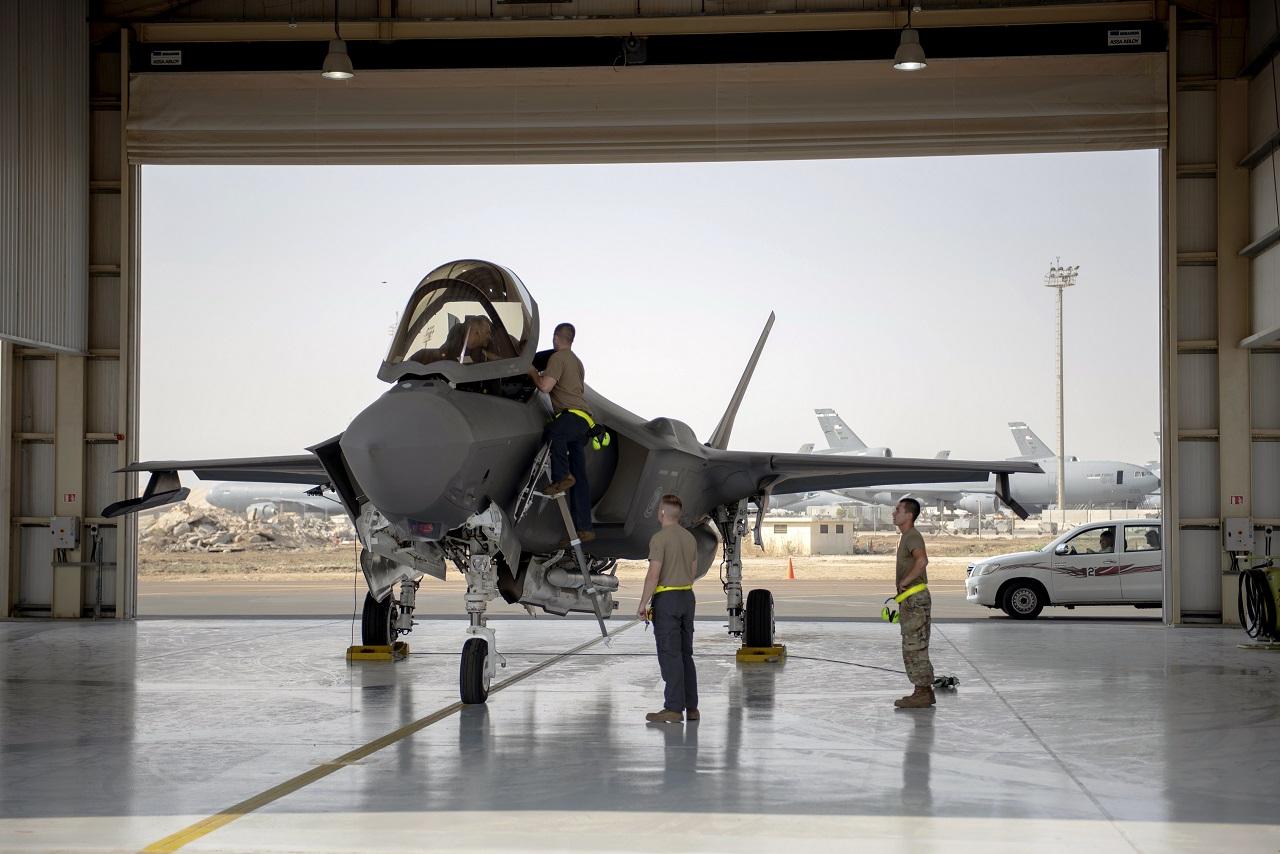 Americké bojové lietadlo F-35
