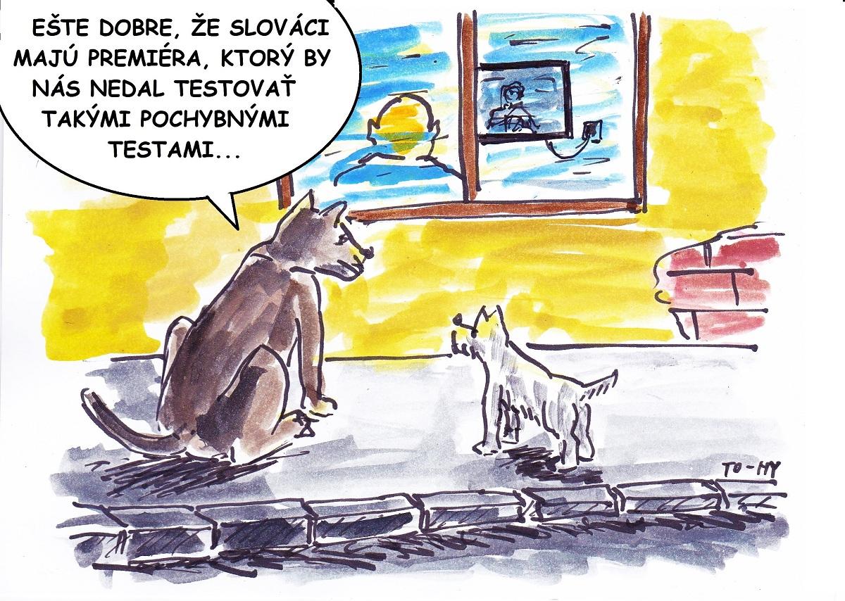 Karikatúra Tomáša Stanislava
