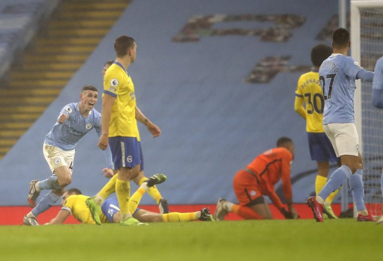 Manchester City - Brighton & Hove Albion FC