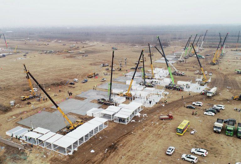 budovanie karanténneho centra
