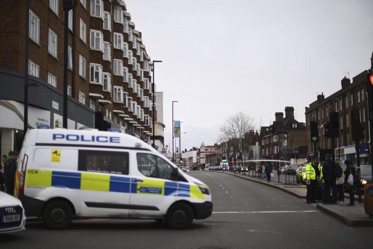 Londýnski policajti