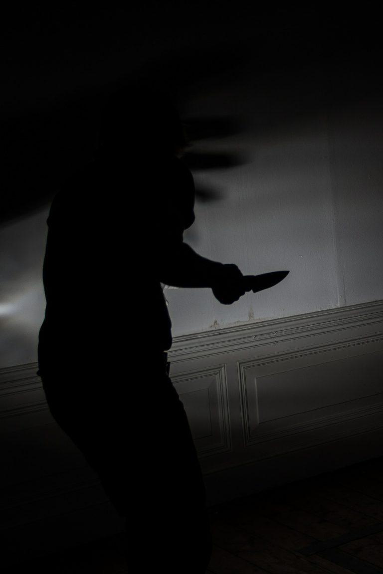 útok nožom
