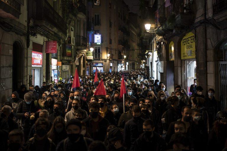 spanielsko raper protest