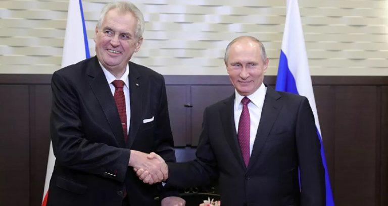 Miloš Zeman Vladimir Putin