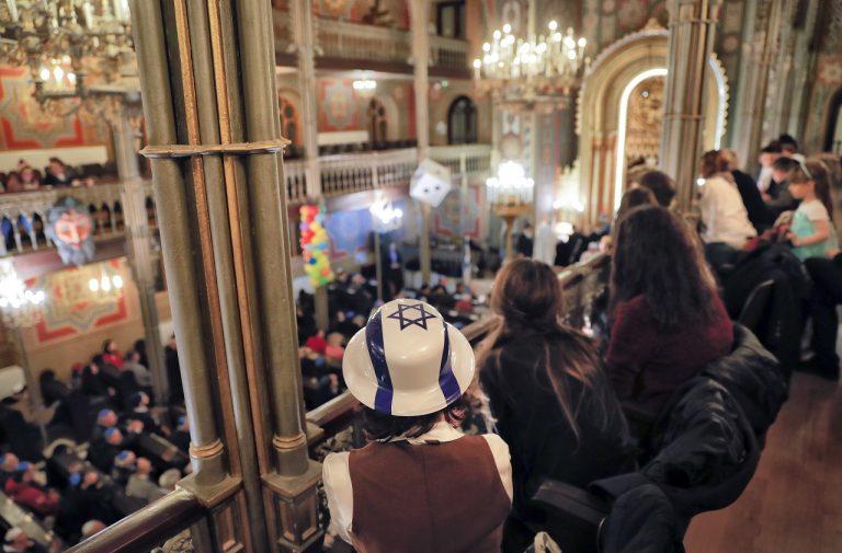 Rumunsko židia Sviatok Purim Oslavy