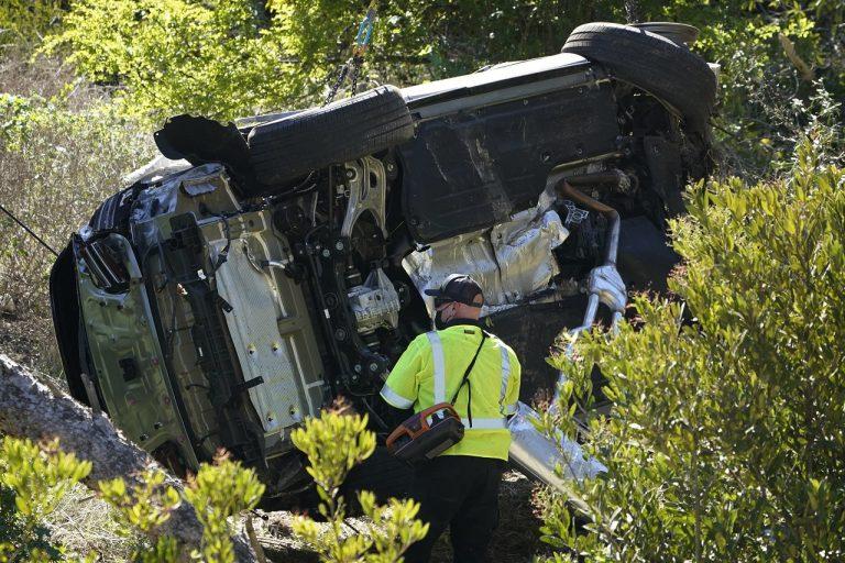 Dopravná nehoda Tigera Woodsa