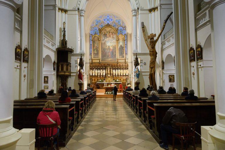 omša, kostol
