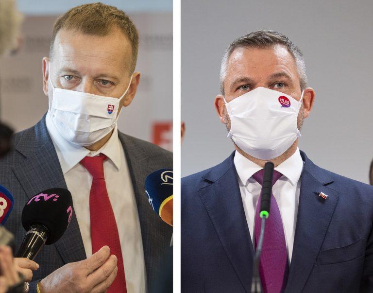 Boris Kollár a Peter Pellegrini