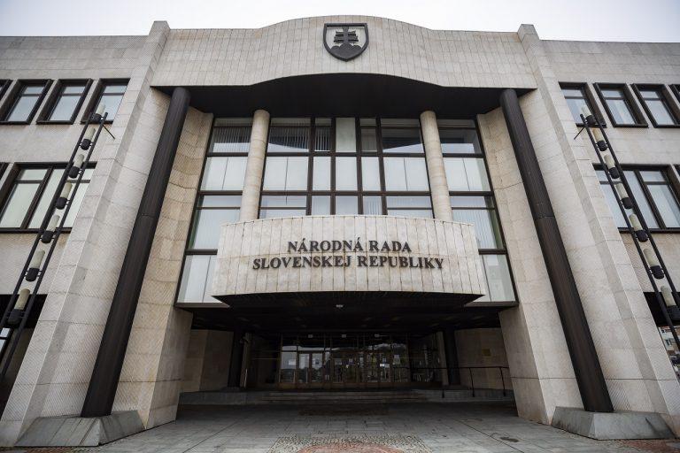 budova Národnej rady (NR) SR