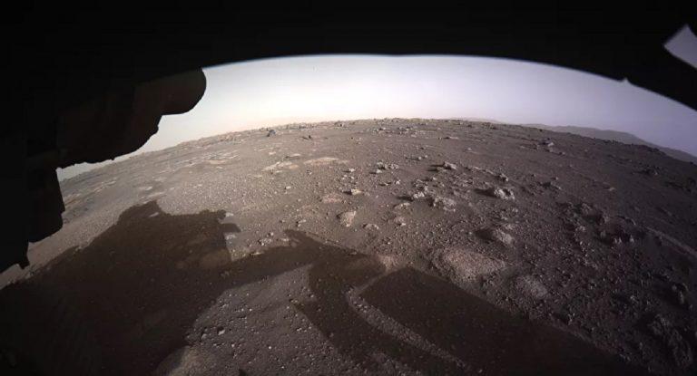 NASA Mars zvuky