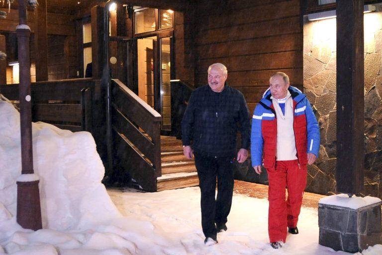 Putin, Lukašenko