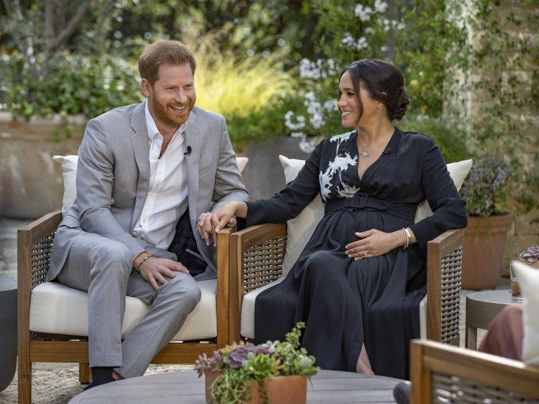 britský princ Harry a jeho americká manželka Meghan Markleová