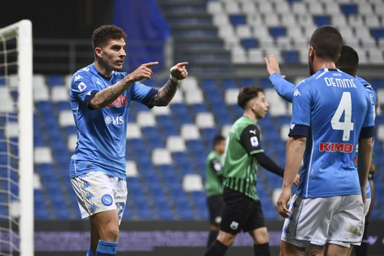 Sassuolo Calcio - SSC Neapol