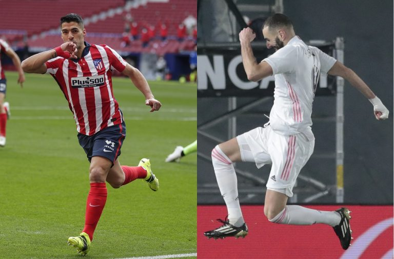 Luis Suarez, Karim Benzema