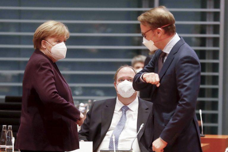 Angela Merkelová, Jens Weidmann, Helge Braun