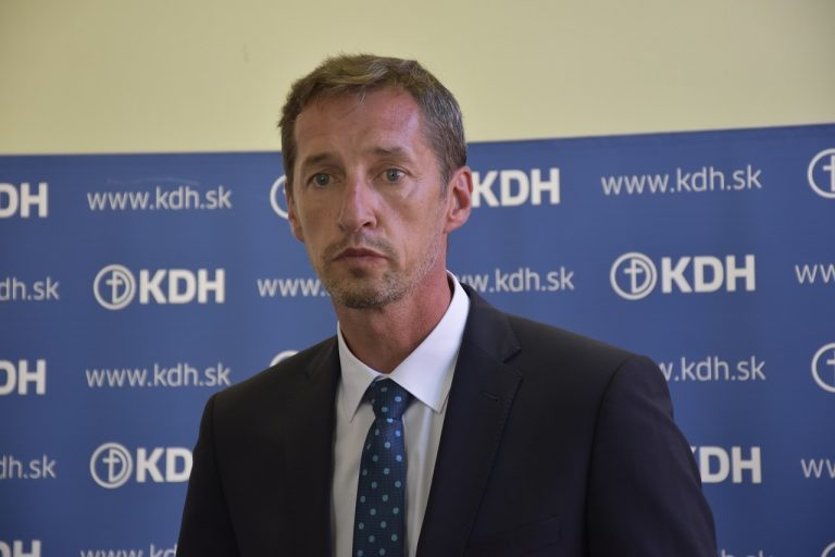 predseda KDH Milan Majerský