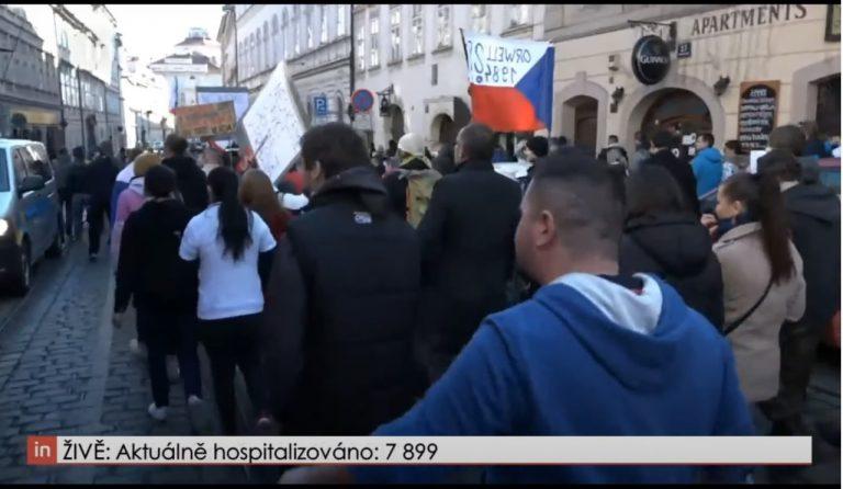 Protesty_Praha