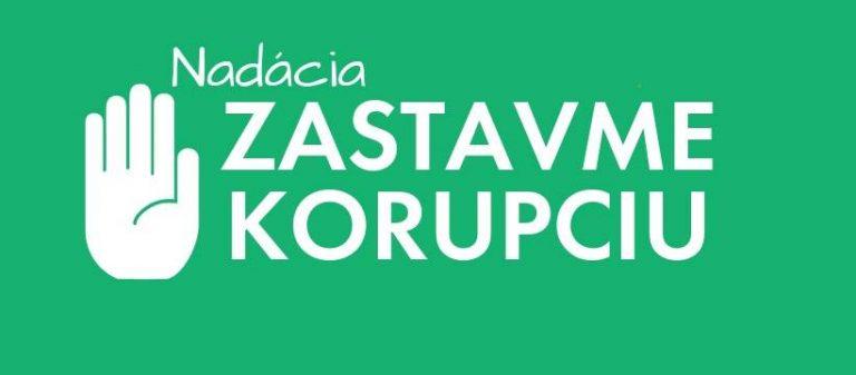 Zastavme korupciu