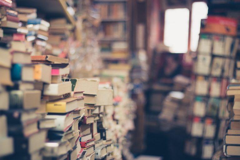 knihy, knižnice